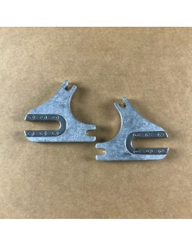 7005 Aluminum frame REAR DROP OUT PAIR L+R with Der Hanger 67 Degrees
